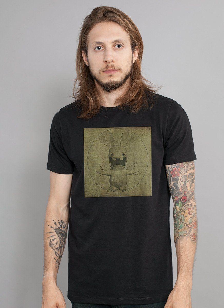 Camiseta Masculina Rabbids Da Vinci