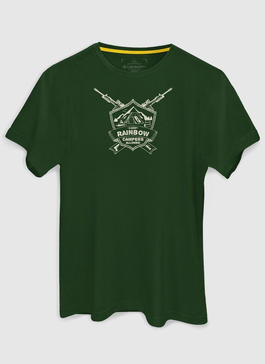 Camiseta Masculina Rainbow Six Campers