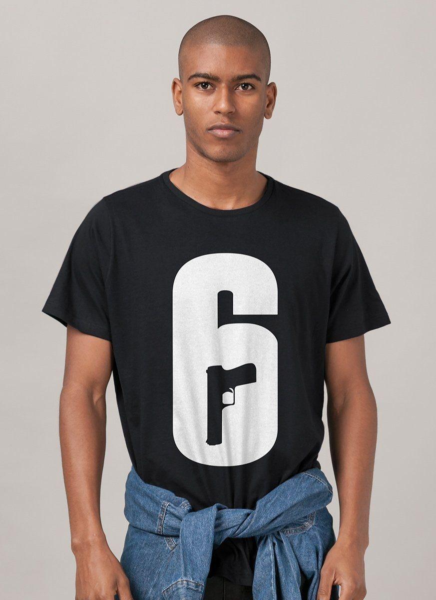 Camiseta Masculina Rainbow Six Logo