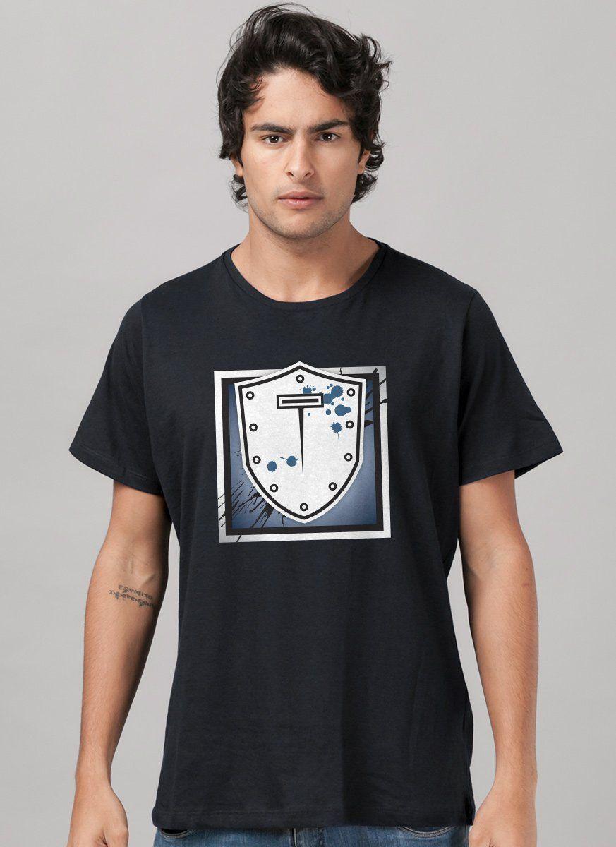 Camiseta Masculina Rainbow Six Montagne Logo