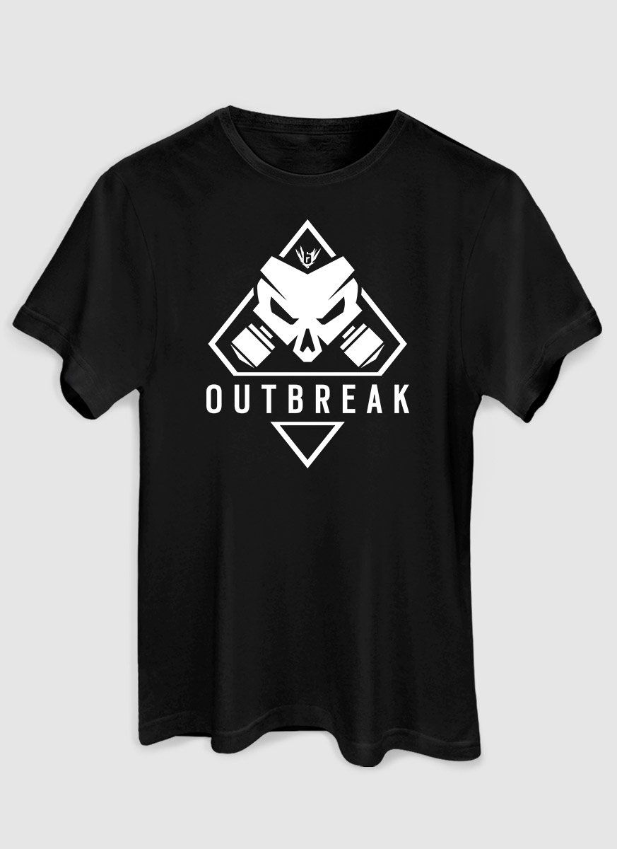 Camiseta Masculina Rainbow Six Outbreak