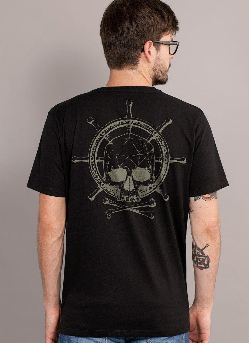 Camiseta Masculina Skull & Bones Logo