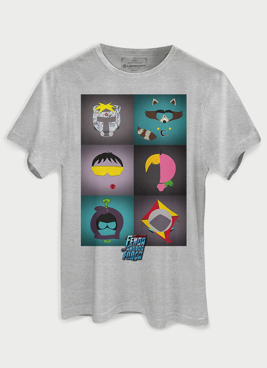 Camiseta Masculina South Park Icons