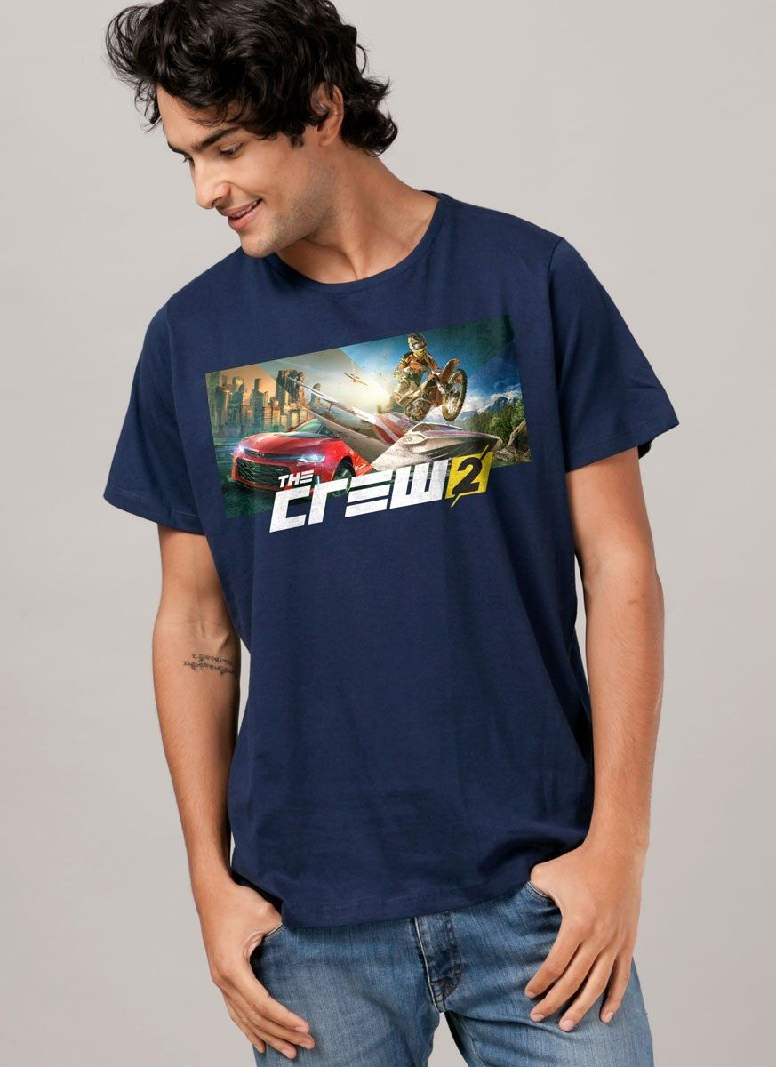 Camiseta Masculina The Crew 2 Wide