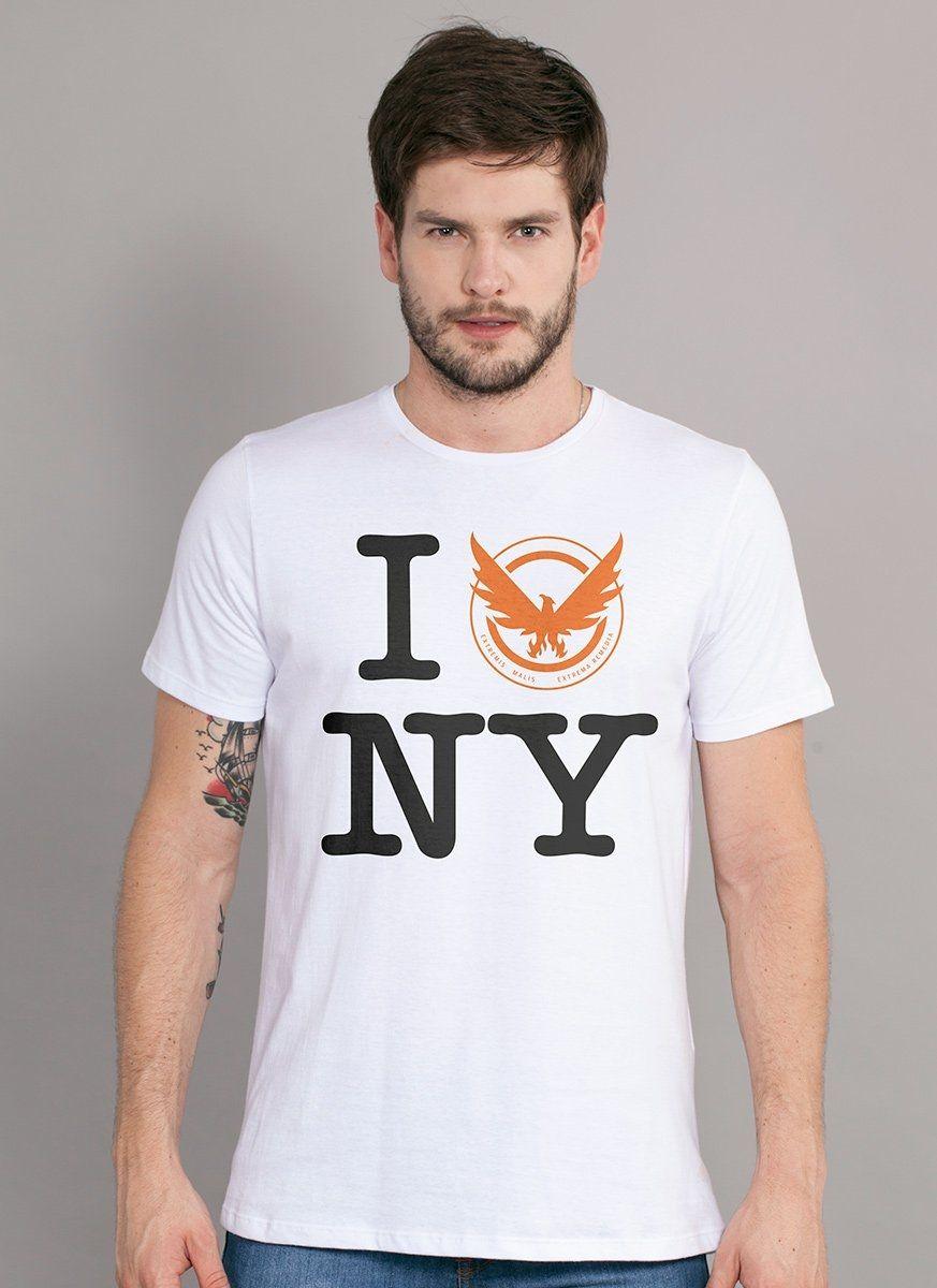 Camiseta Masculina The Division NY