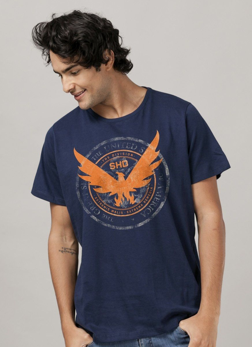 Camiseta Masculina Tom Clancy´s The Division 2 Phoenix
