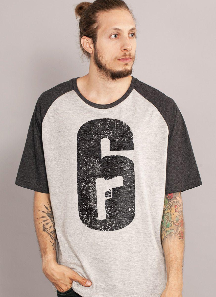 Camiseta Raglan Masculina Rainbow 6