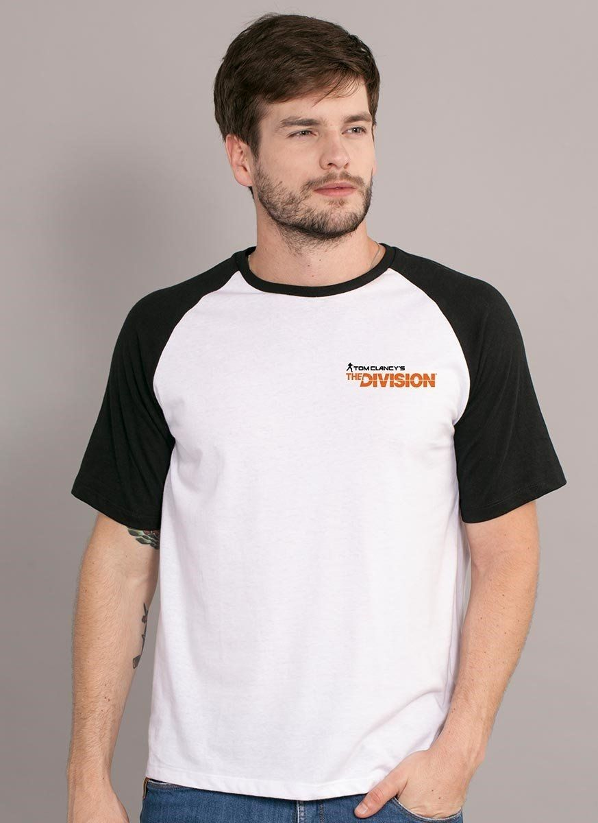 Camiseta Raglan Masculina Tom Clancy's The Division Extremis Malis