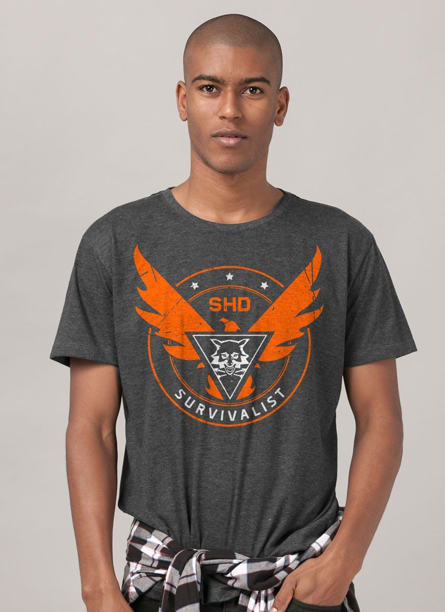 Camiseta The Division 2 Survivalist