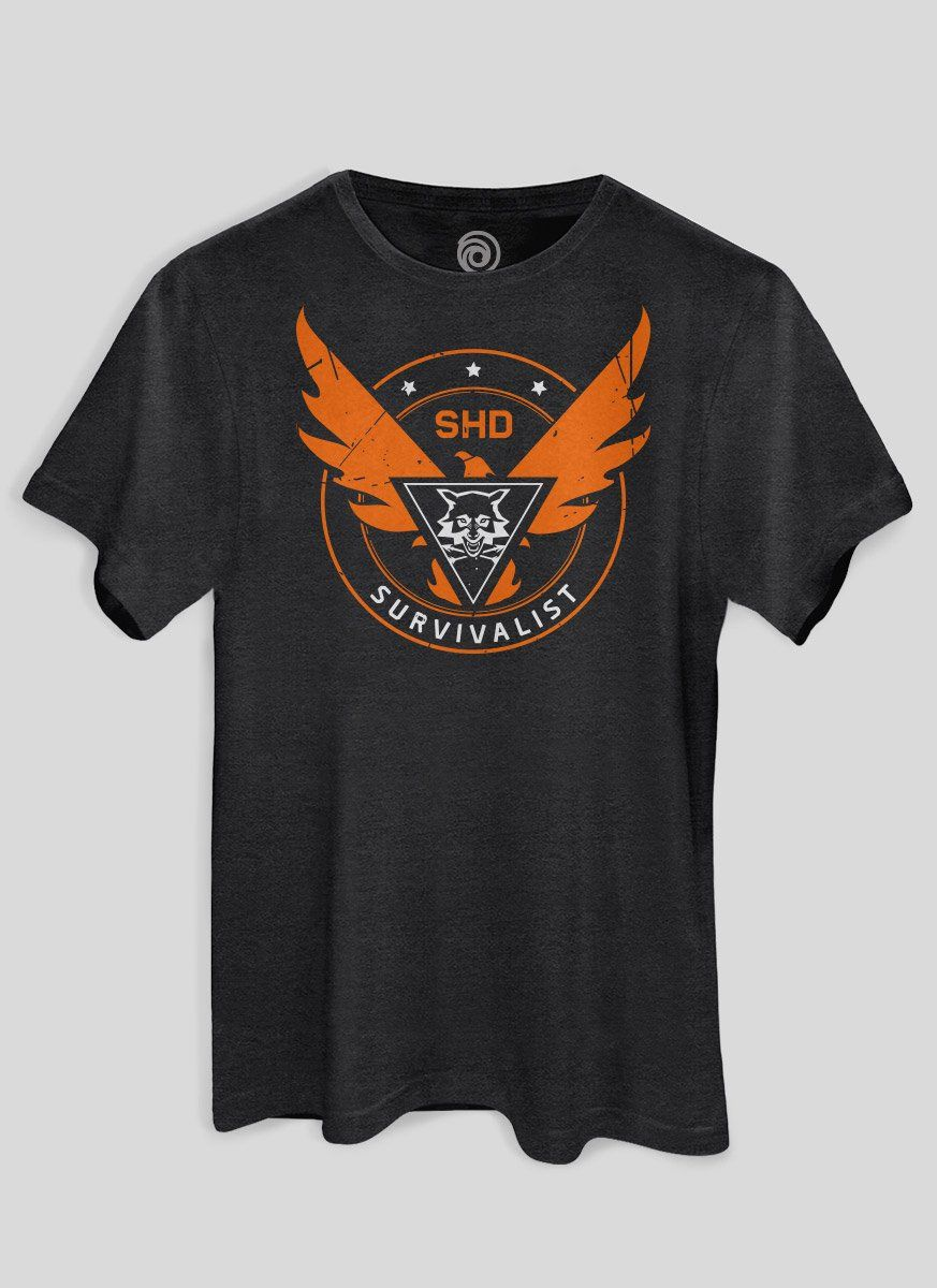 Camiseta The Division 2 Survivalist