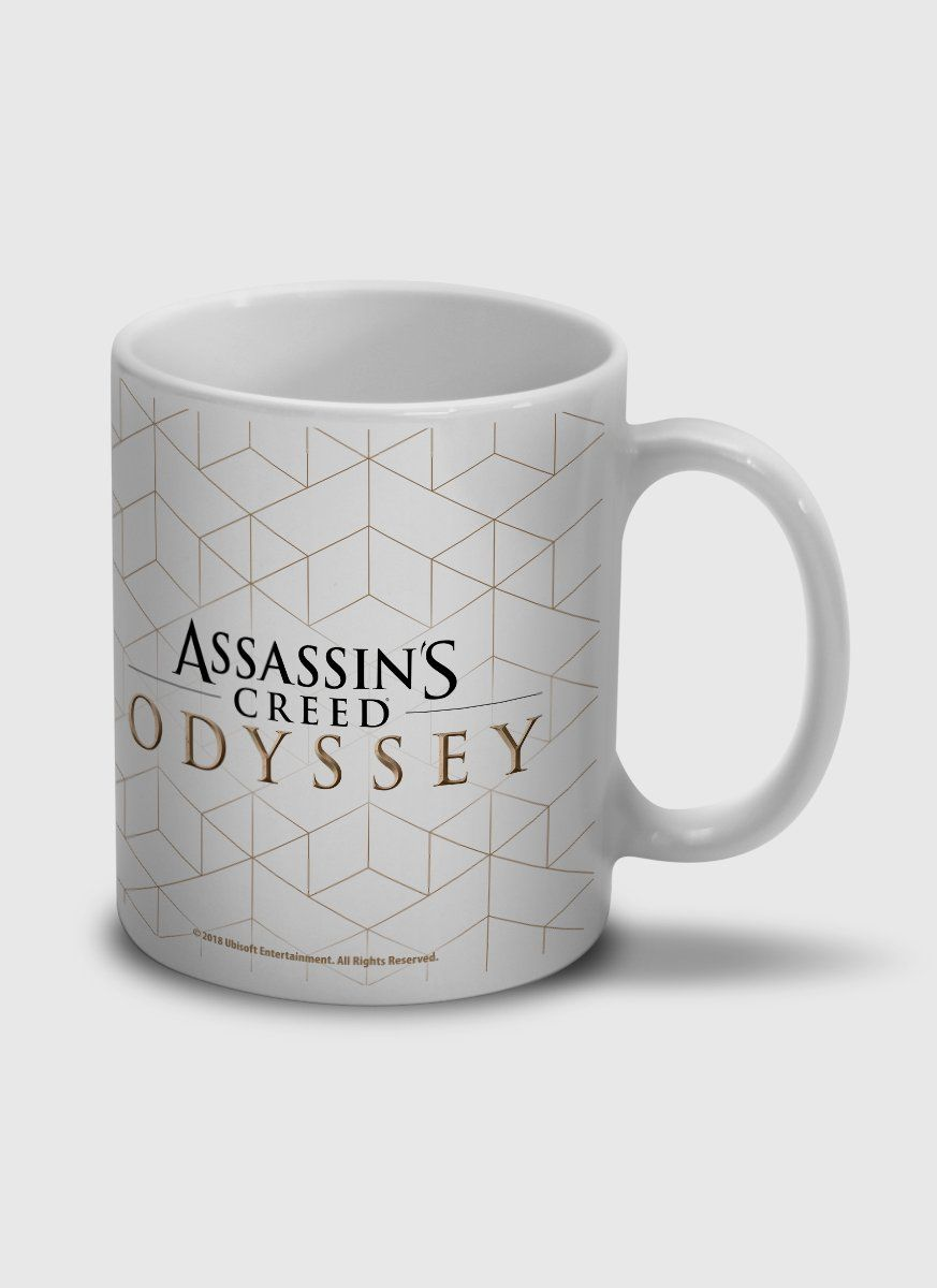 Caneca Assassin's Creed Odyssey Texture