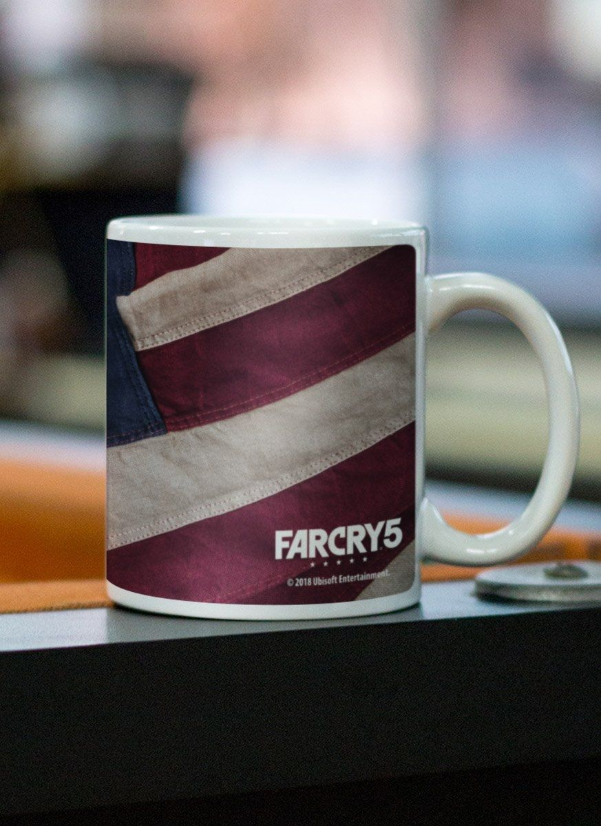 Caneca Far Cry 5 Cult Flag