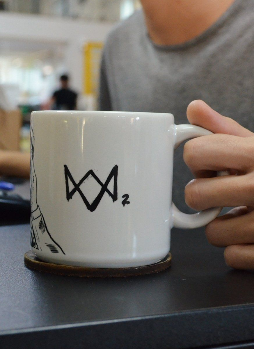 Caneca Watch Dogs OMG