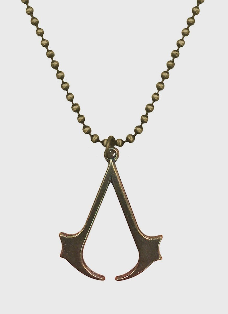 Colar Ouro Assassin's Creed