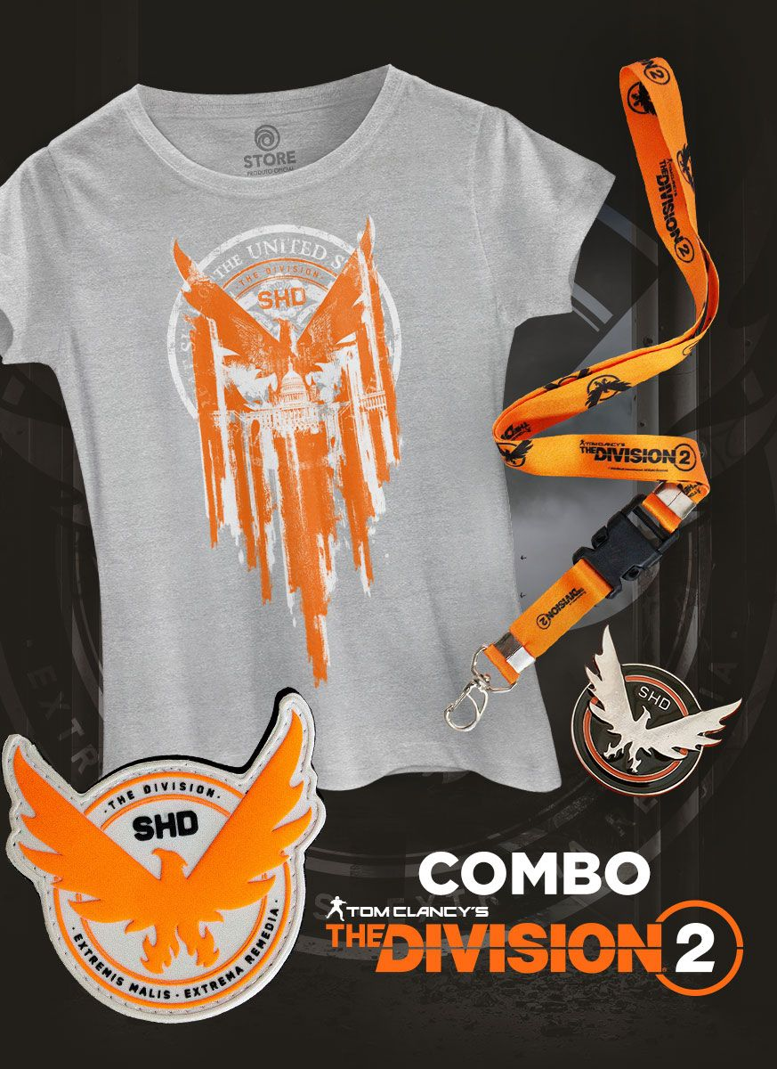 Combo Feminino Tom Clancy's The Division 2