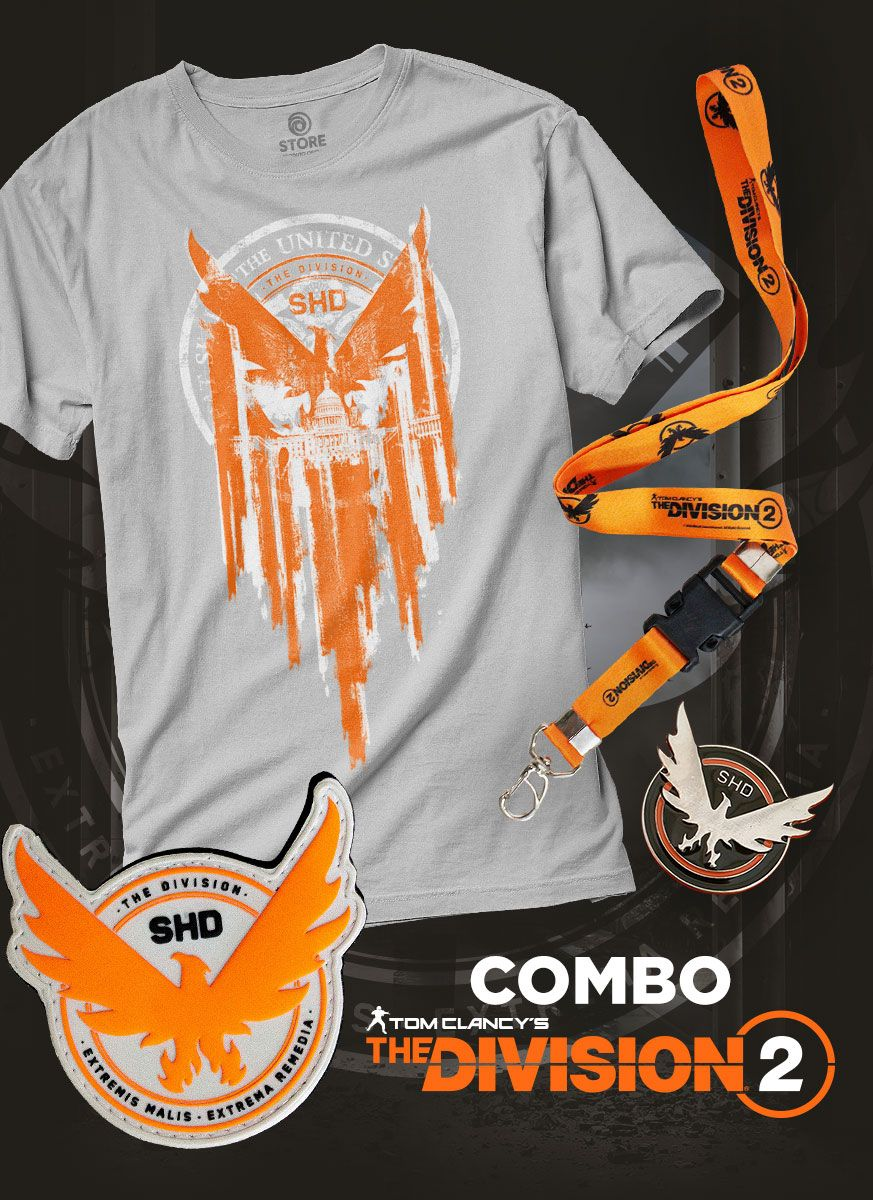 Combo Masculino Tom Clancy's The Division 2