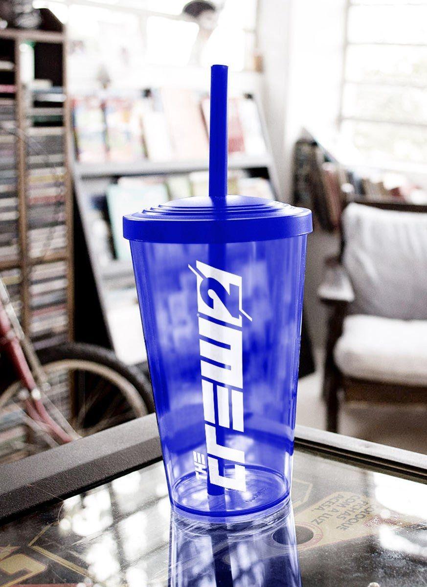 Copo Acrilico Azul The Crew 2 Logo