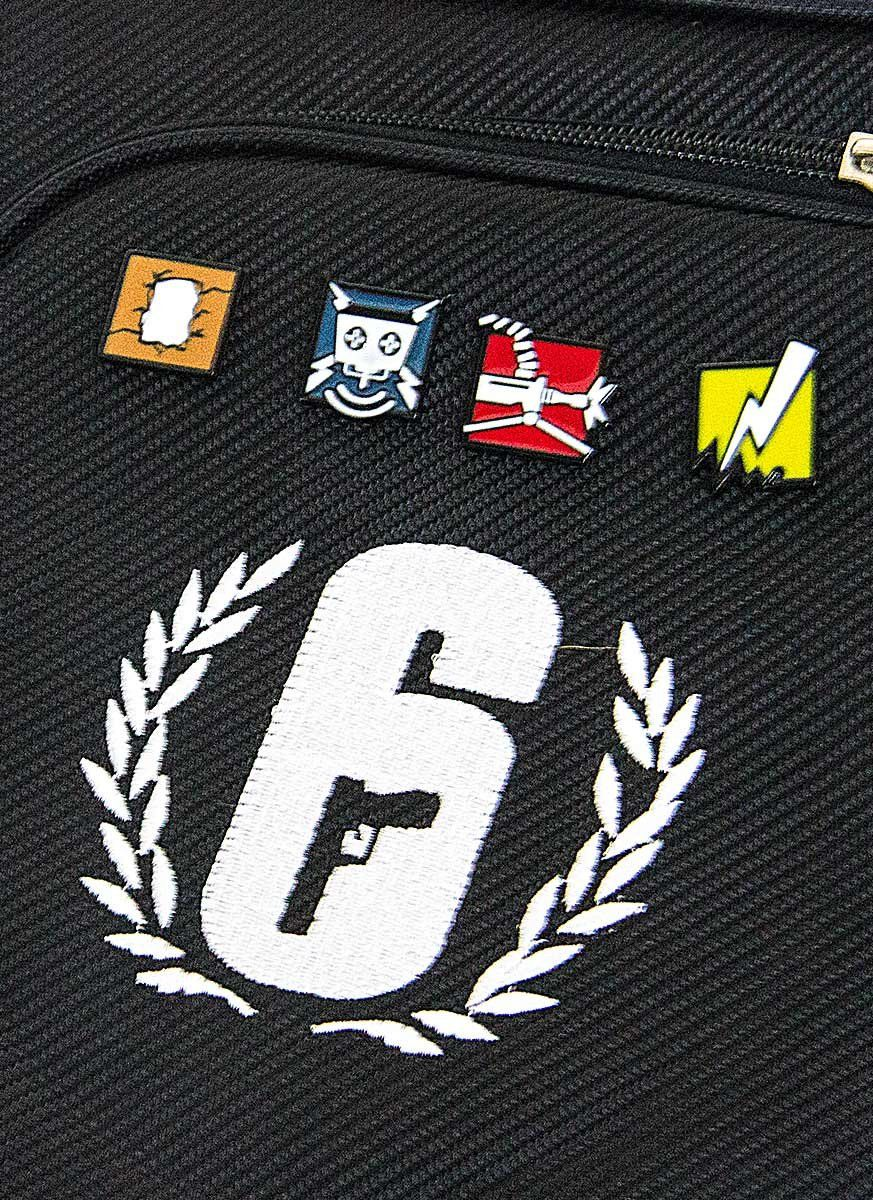 Kit 2 Pins SORTIDOS Rainbow Six Pro League