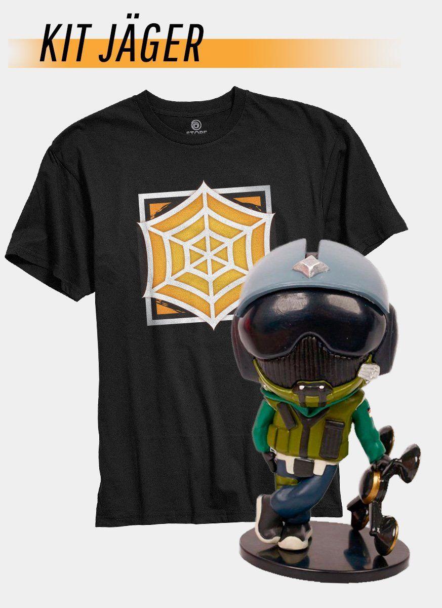 Pré-Venda Kit Camiseta + Chibi Jäger