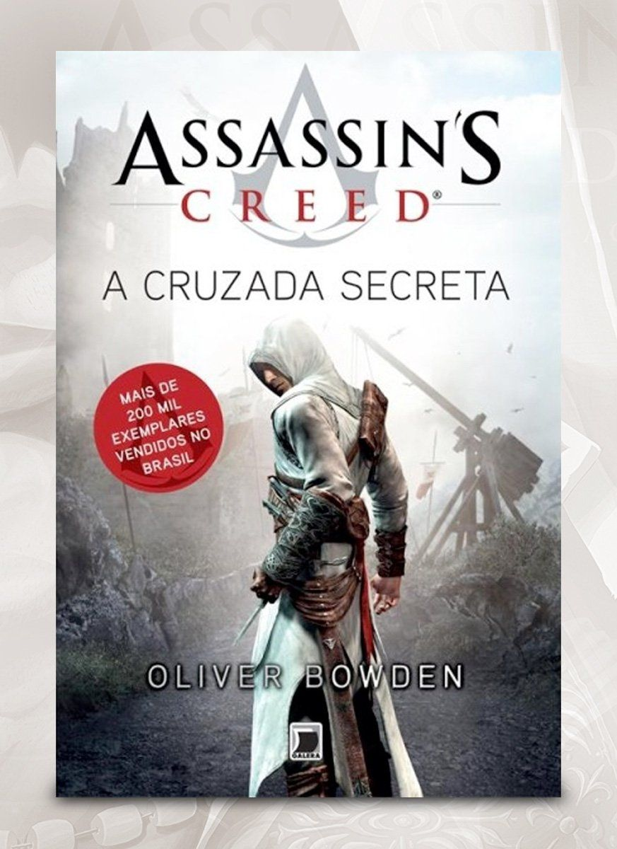 Livro Assassin's Creed A Cruzada Secreta
