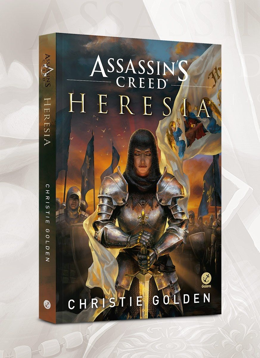 Livro Assassin's Creed Heresia