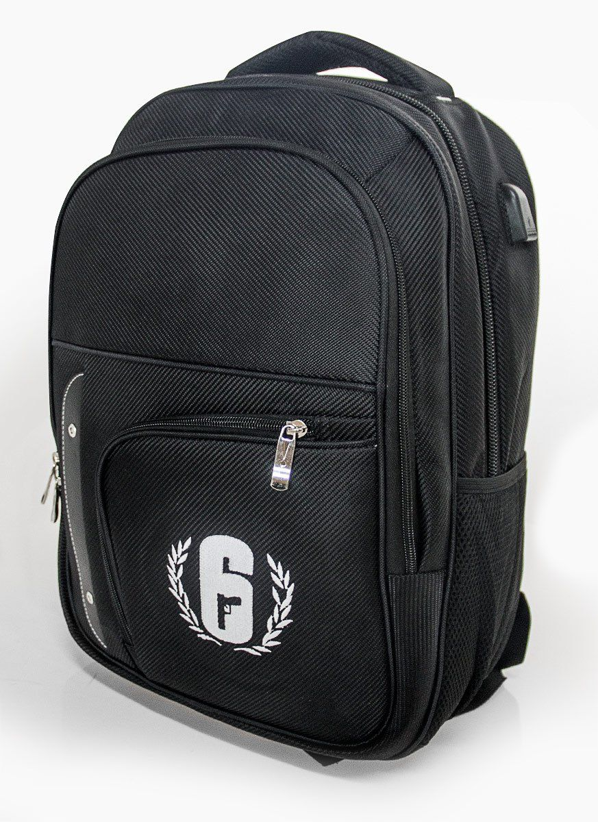 Mochila IMPORTADA Rainbow Six Pro League + BRINDE EXCLUSIVO