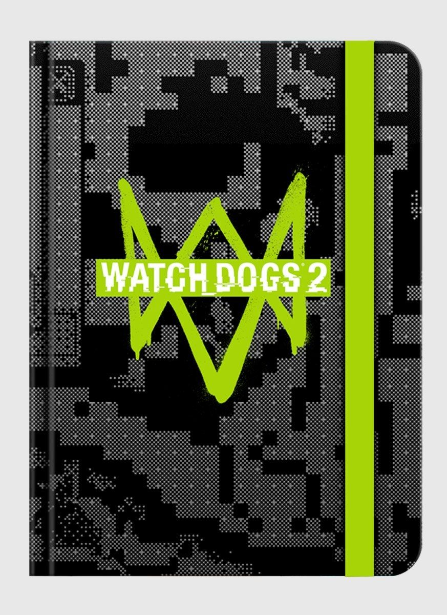 Caderneta Watch Dogs 2