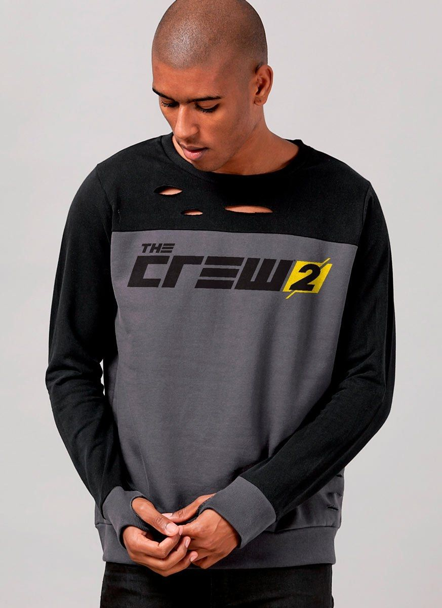 Moletinho Bicolor The Crew 2 Logo