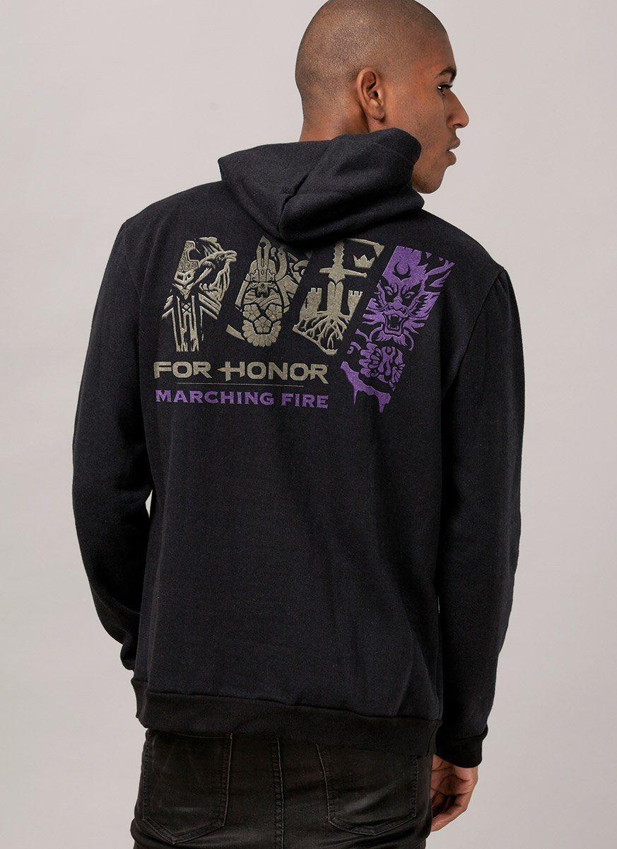 Moletom Preto For Honor Marching Fire