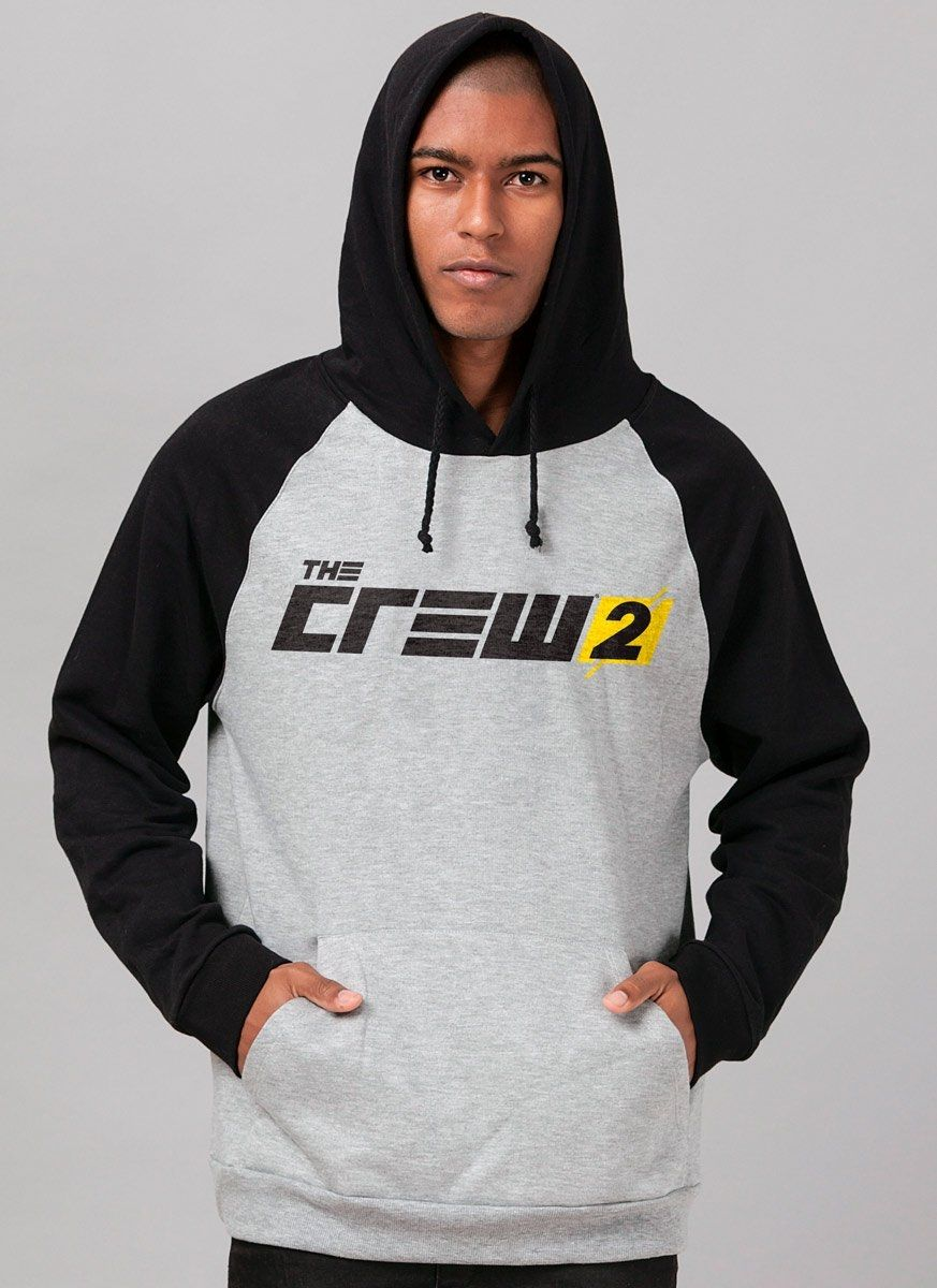 Moletom Raglan The Crew 2 Logo