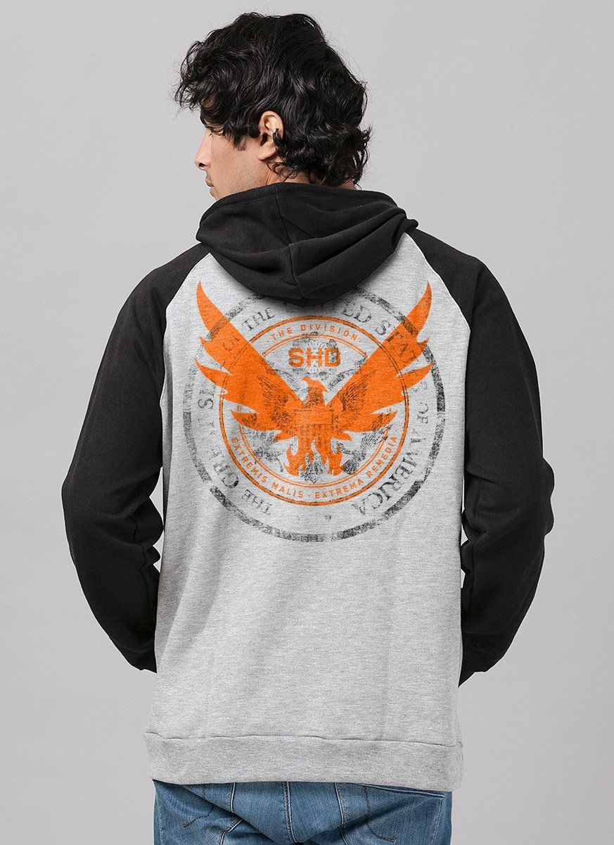 Moletom Raglan Tom Clancy's The Division 2 Phoenix Primary