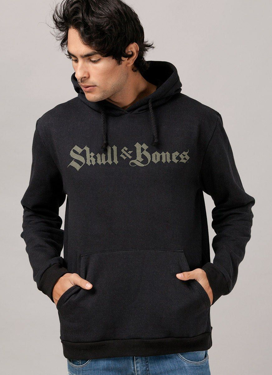Moletom Skull & Bones Logo