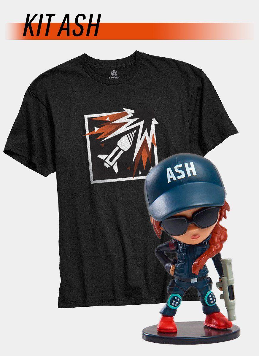 Pré-Venda Kit Camiseta + Chibi Ash