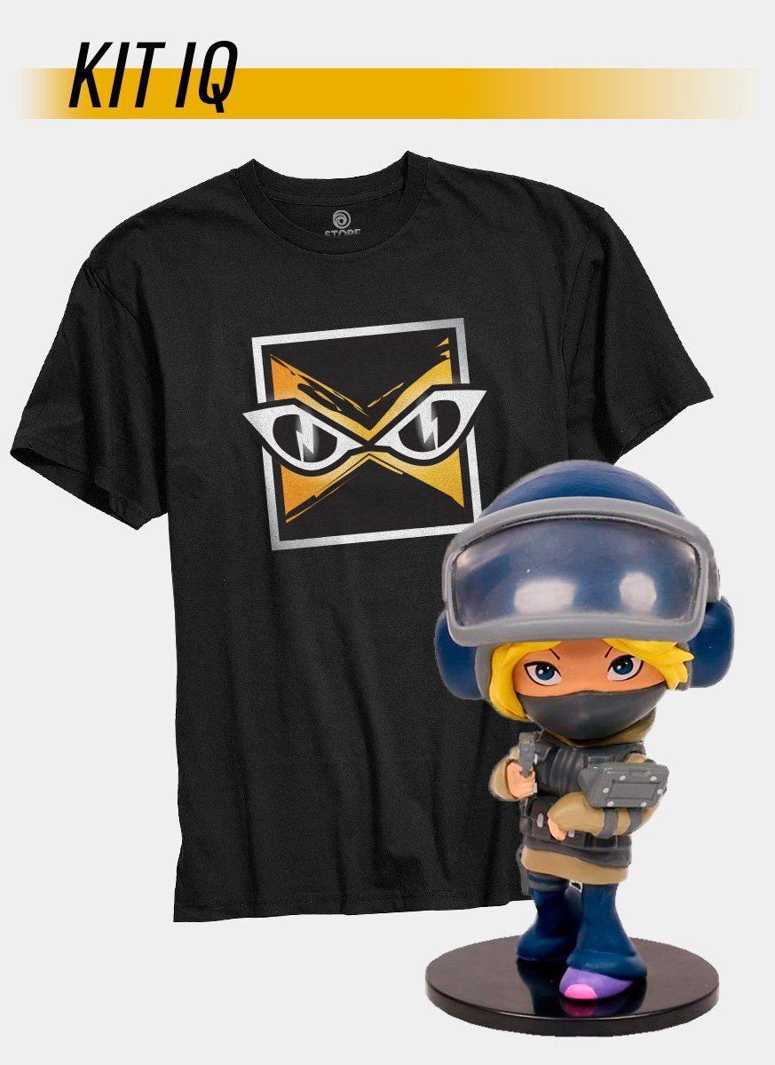 Pré-Venda Kit Camiseta + Chibi IQ