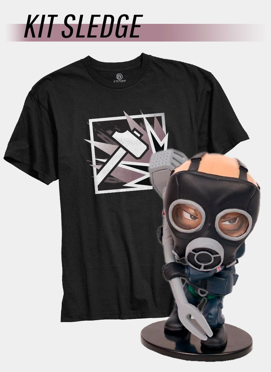 Pré-Venda Kit Camiseta + Chibi Sledge