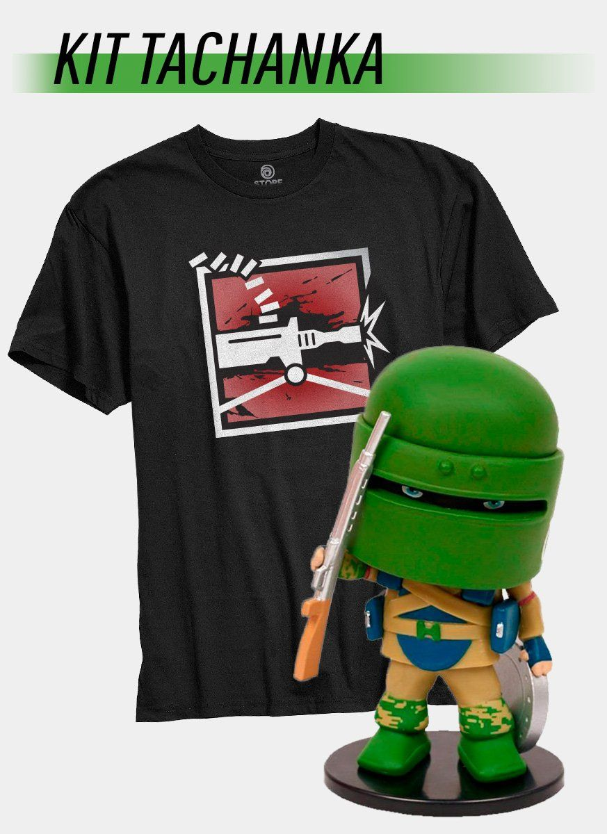 Pré-Venda Kit Camiseta + Chibi Tachanka