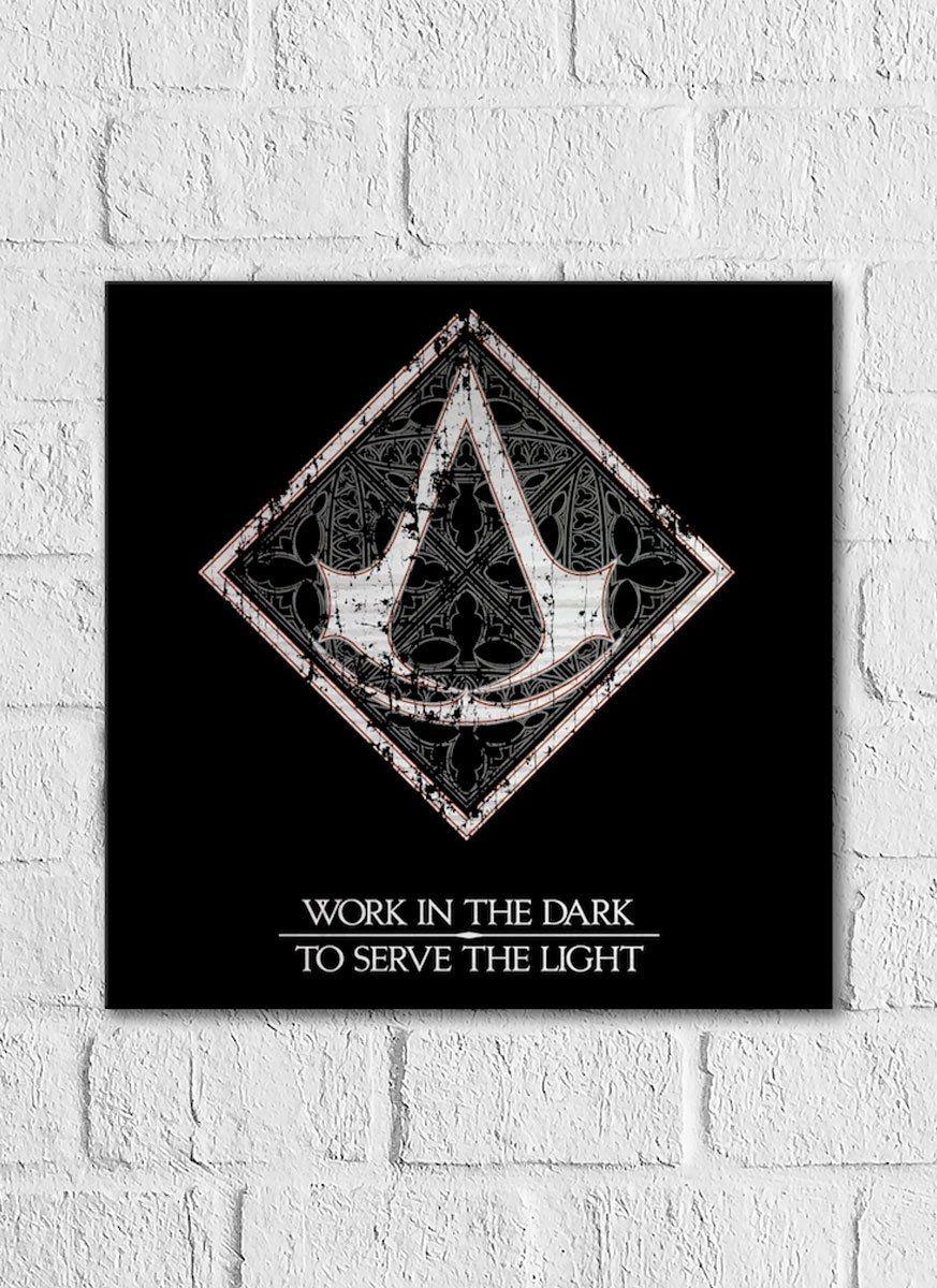 Quadro Decorativo Assassin's Creed Filme Crest