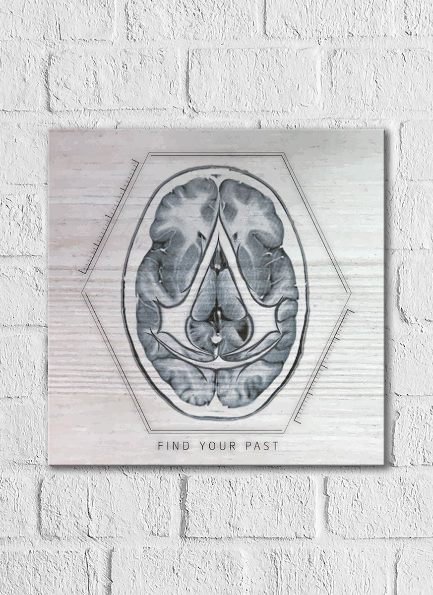 Quadro Decorativo Assassin's Creed Filme Mind of a Assassin