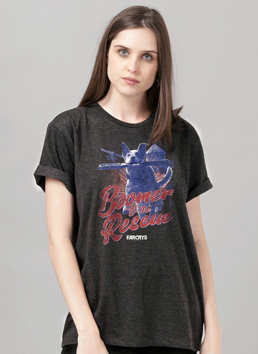 T-Shirt Feminina Far Cry 5 Boomer