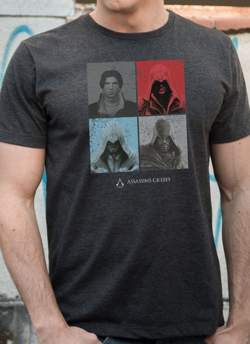 T-shirt Premium Masculina Assassin's Creed Ezio