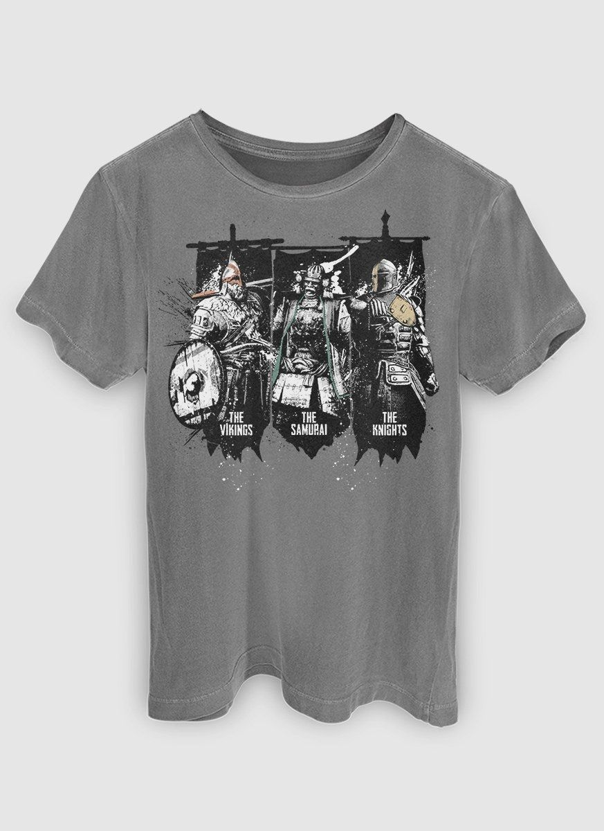 T-shirt Premium Masculina For Honor Universe