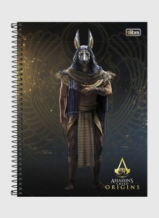 Caderno Assassin's Creed Annubis 1 Matéria