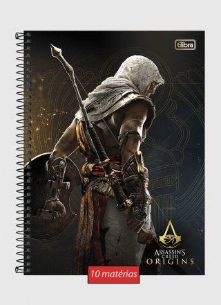 Caderno Assassin's Creed Bayek 10 Matérias