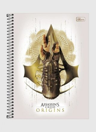 Caderno Assassin's Creed Origins 1 Matéria