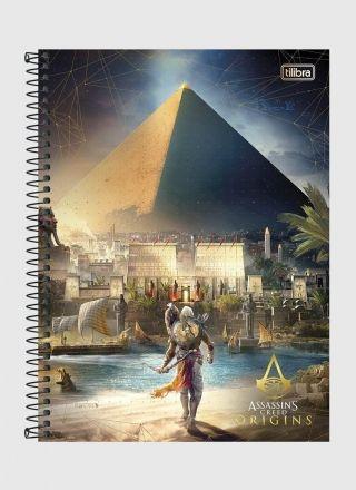 Caderno Assassin's Creed Piramide 1 Matéria