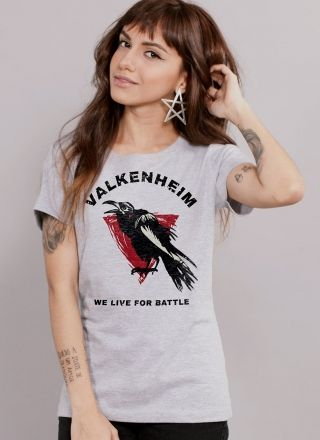 Camiseta Feminina For Honor Type Vikings