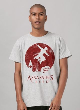 Camiseta Masculina Assassin's Creed Lua