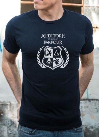 Camiseta Masculina Assassin's Creed School