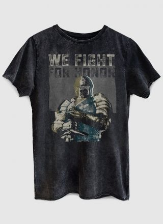 Camiseta Masculina Marmorizada We Fight for Honor