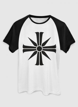 Camiseta Raglan Masculina Far Cry 5 Cross